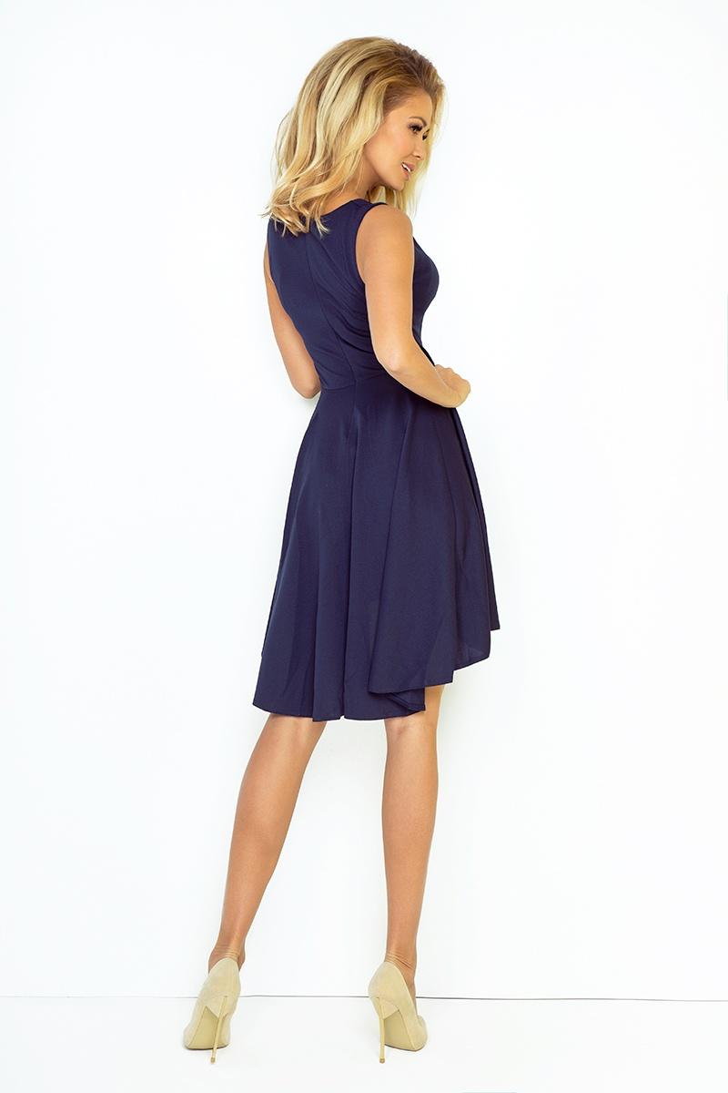 Exclusive asymetrické šaty - tmave modre 33-3    Numoco CZ 5d25d86079
