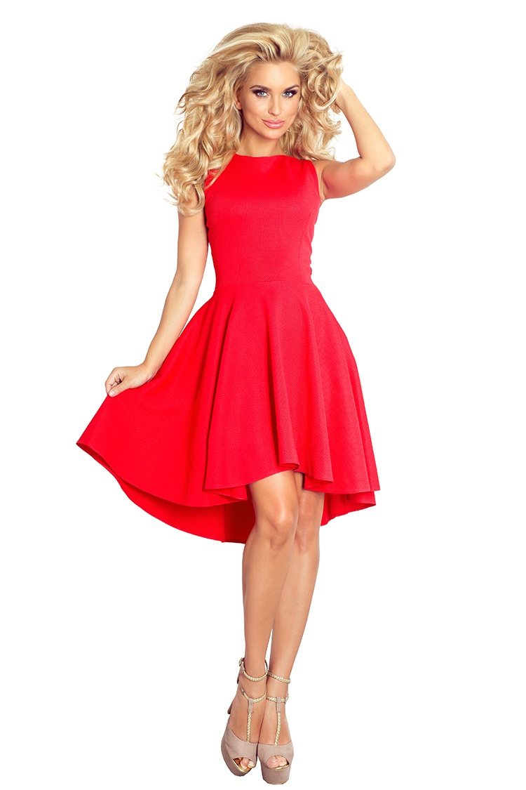 Lacosta - Exclusive asymetrické šaty - cervena 66-12    Numoco CZ 5465b61afb