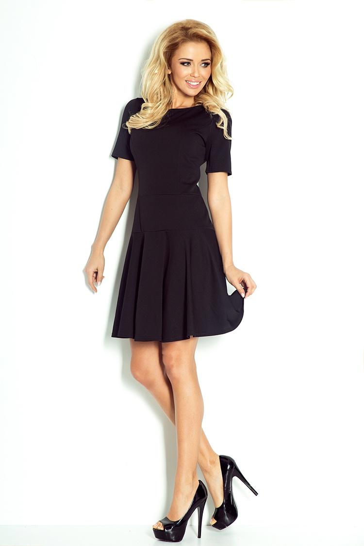 Tenis šaty s krátkým rukávem - černá Lacoste 76-1    Numoco CZ efb58d8430